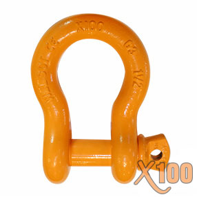 X100® All Alloy Screw Pin Anchor Shackle