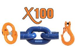 X100® Grade 100 Chain & Hardware